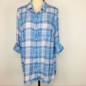 NWT! Old Navy flannel Classic Shirt w/pocket
